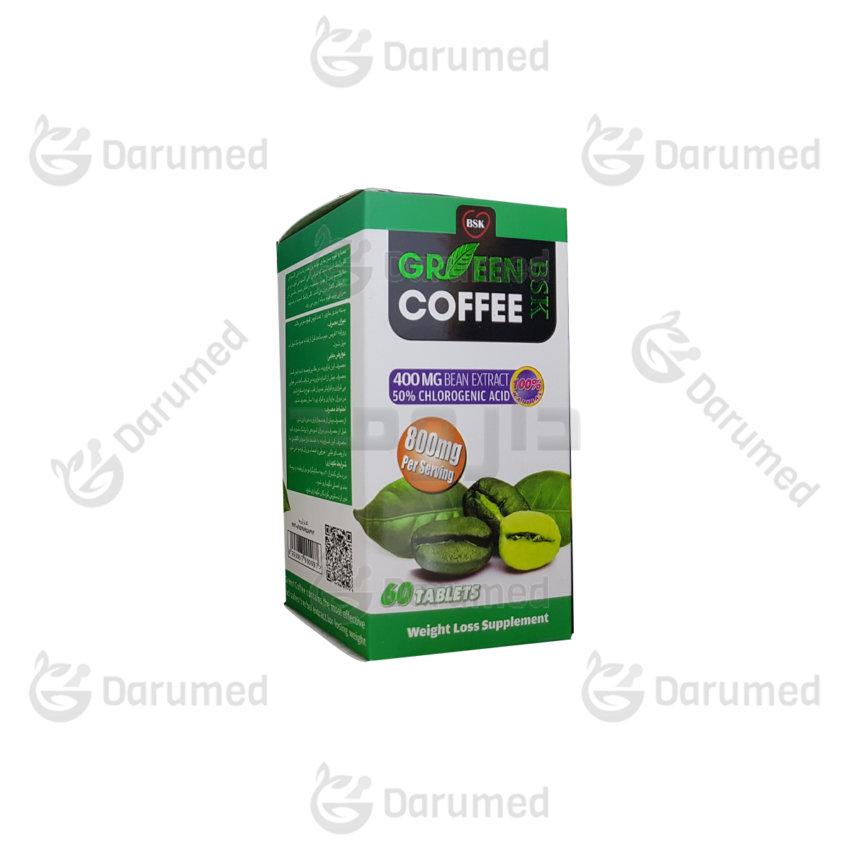 گرین کافی قرص قهوه سبز بی اس کی