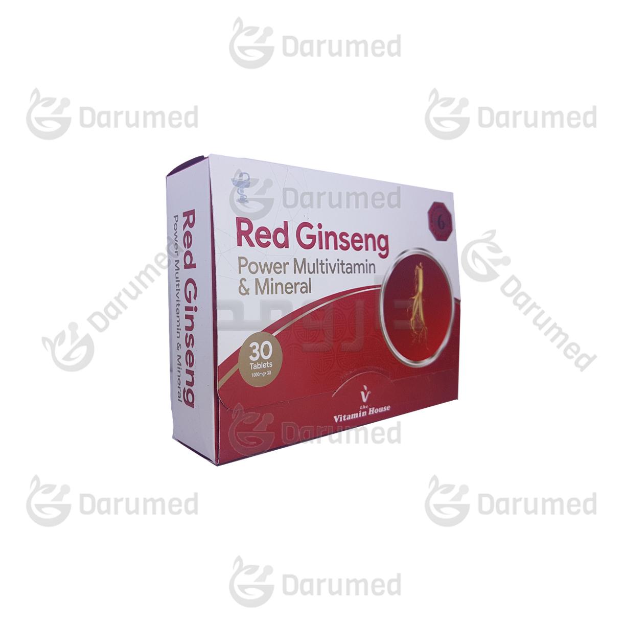 قرص-رد-جینسینگ-ویتامین-هوس